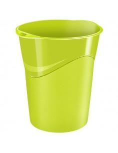 Cestino gettacarte CepPro Gloss - 14l - verde anice - 1002800301
