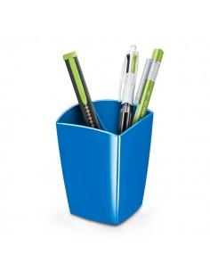 Portapenne CepPro Gloss - 7,4x7,4x9,5 cm - blu oceano - 1005300351