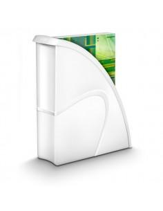 Portariviste CepPro Gloss - 27x8,5x31 cm - bianco - 1006740021