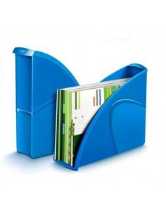 Portariviste CepPro Gloss - 27x8,5x31 cm - blu oceano - 1006740351