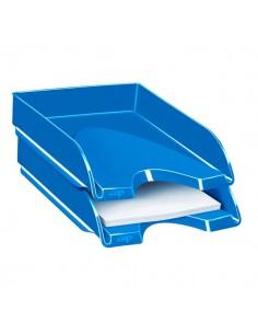 Vaschetta portacorrispondenza CepPro Gloss - 34,8x25,7x6,6 cm - blu oceano - 1002000351