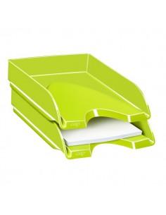 Vaschetta portacorrispondenza CepPro Gloss - 34,8x25,7x6,6 cm - verde anice - 1002000301