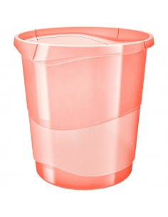 Cestino Colour'Ice Esselte - 14 lt - 28,5x30,5x32,5 cm - albicocca - 626288