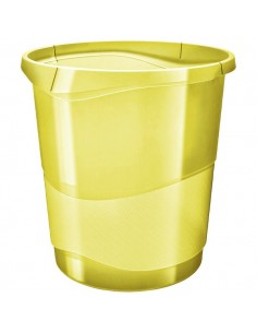 Cestino Colour'Ice Esselte - 14 lt - 28,5x30,5x32,5 cm - giallo - 626287