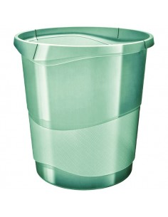 Cestino Colour'Ice Esselte - 14 lt - 28,5x30,5x32,5 cm - verde - 626290