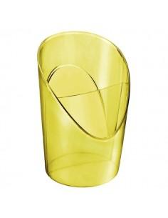 Portapenne Colour'Ice Esselte - 10x12,5x9 cm - giallo - 626267