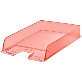 Vaschetta portacorrispondenza Colour'Ice Esselte - 25,4x6,1x35 cm - albicocca - 626273 (conf.10)