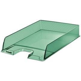Vaschetta portacorrispondenza Colour'Ice Esselte - 25,4x6,1x35 cm - verde - 626275 (conf.10)