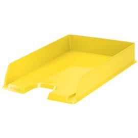 Vaschette Europost Vivida Esselte - 35x25,4x6,1 cm - giallo Vivida - 623925 (conf.10)