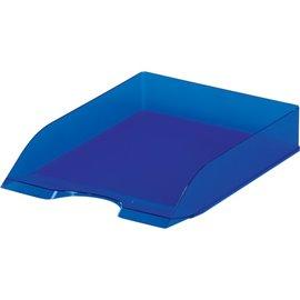 Portacorrispondenza Basic Durable - 25,3x33,7x 6,3 cm - blu traslucido - 1701673540 (conf.6)