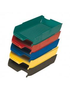 Vaschetta portacorrispondenza Presbitero - 25,5x35,5x6,5 cm - rosso - X850006