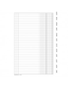 Registro scadenzario Semper Multiservice - Nr. Fogli 96 - 131648000