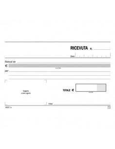 Blocco ricevute generiche Semper Multiservice - carta chimica 2 parti - 50x2 - SE162570000