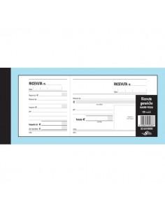 Blocco ricevute generiche Semper Multiservice - 100 a madre-figlia - 215x100 mm - SE160100000