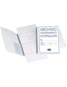Cartella per archivio azzeramenti giornalieri Semper Multiservice - 1820AZT00