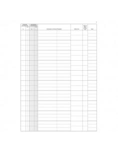 Registro protocollo esportatori Semper Multiservice - 46 - 31x24,5 cm - SEO000100