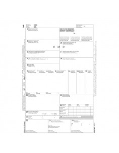 Snap lettera di vettura internazionale (CMR) Semper Multiservice - 210x310 mm - 183160000 (conf.50)