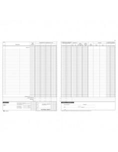 Registro corrispettivi Semper Multiservice - 16 - 31x24,5 cm - SEF000500