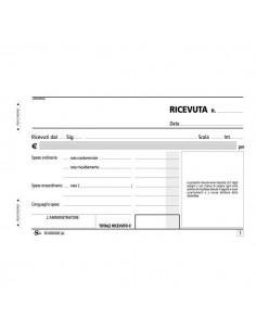 Blocco ricevute di affitto Semper Multiservice - 168x100 mm - SE160200000