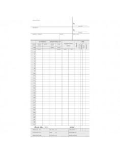 Rilevazione presenze per orologio Semper Multiservice - 104x225 mm - 158000000 (conf.100)