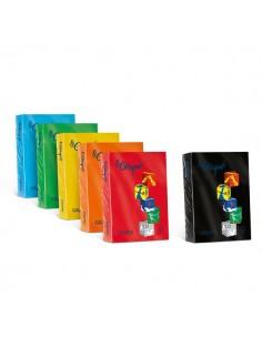 Carta colorata Le Cirque Favini - colori forti - A4 - 160 g/mq - nero - A74A304 (risma250)