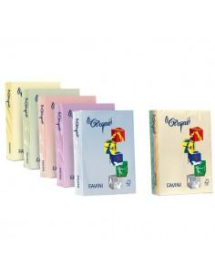 Carta colorata Le Cirque Favini - FSC - 80 g/mq - giallo - A3 - A712353 (risma500)