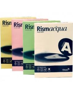 Cartoncino colorato Rismacqua Favini A3 - 140 g/mq - assortiti 5 colori - A65x223 (risma200)