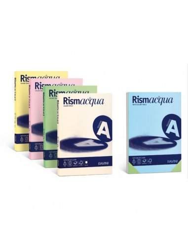 Carta e cartoncini in rismette Favini - tenui - A4 - 200 g/mq - verde chiaro - A69P544 (risma50)