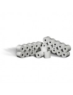 Rotolo calcolatrice Rotomar - cellulosa fibra corta - 6cm -35m -12mm-60mm- AMG0600D06012B (conf.10)