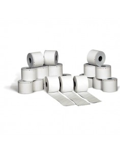 Carta adesiva in rotoli per bilancia Rotomar - 6 cm - 38 m - 25 mm - 85 mm - BTA0600038025UP (conf.24)
