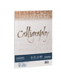 Calligraphy Canvas Ruvido Favini - avorio - A4 - 200 g - A69Q314 (conf.50)