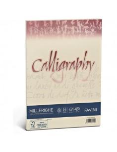 Calligraphy Millerighe Rigato Favini - avorio - fogli - A4 - 100 g - A69Q224 (conf.50)
