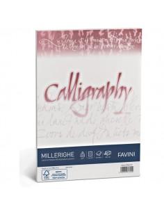 Calligraphy Millerighe Rigato Favini - bianco - fogli - A4 - 200 g - A690324 (conf.50)