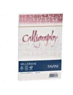 Calligraphy Millerighe Rigato Favini - bianco - buste - 12x18 cm - 100 g - A570427 (conf.25)