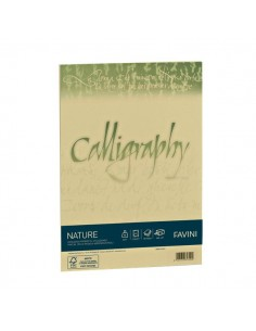 Calligraphy Nature Favini - Oliva - fogli - A4 - 120 g - A69N534 (conf.50)