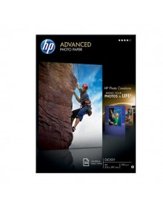 Carta fotografica HP Advanced Hewlett Packard - lucida - A4 - 250 g/mg - Q5456A (conf.25)