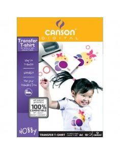 T-Shirt transfer Canson - A4 - 140 g/mq - C204567480 (conf.10)