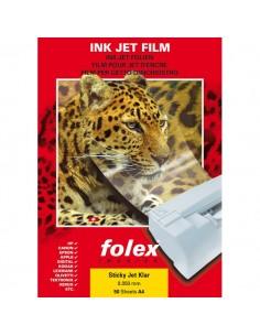 conf. 50 Film adesivo inkjet trasparen Folex 2939C.050.44100