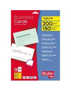 Biglietti visita Decadry -laser/inkjet-microperf.-angoli vivi-fronte/retro - 200g -DAW327 (conf.500)