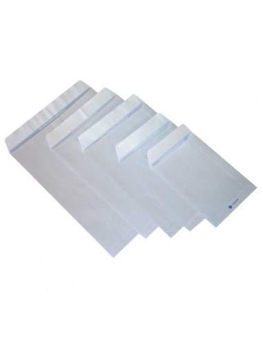 Buste a sacco con strip Pigna - bianco - 19x26 cm - 80 g/mq - strip - 0029472 (conf.500)