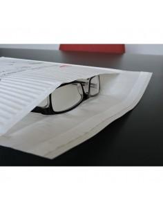 Busta imbottita ecologica in carta WillChip - int. 150x215 mm - bianco - WW150215 (conf.10)