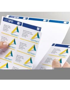 Etichette bianche per buste Ultragrip™ Avery - laser - 63,5x33,9 mm - et/ff 24 - L7159-15 (conf.15)