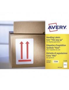"""Etichette in rotolo per spedizioni Avery - """"Alto"""" - 74x100mm - 200 - 7250"""