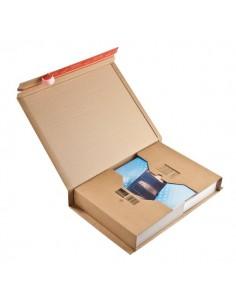 Scatole postali Colompac - avana - 45,5x32x70 cm - 51x33x8,5 cm - CP020.18 (conf.20)