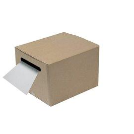 Bobina Pretagliata In Dispenser Di Cartone - Protezione Foam Pregis - Bianco - 550928