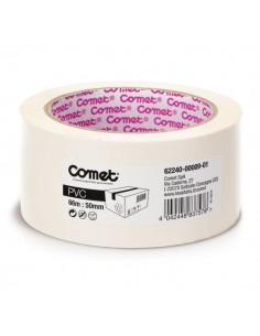 Nastro da imballo Comet 62240 Comet - 50 mm x 66 m - bianco - 62240-00009-01