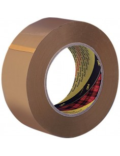 Nastri da imballo Scotch® - silenzioso - PPL - 50 mm x 66 m - avana - 50 my - 28458 (conf.6)