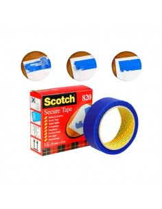 Nastro Scotch® Secure Tape - 35 mm x 33 m - blu - 820-49300