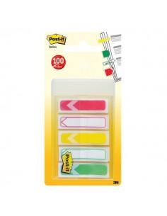 Segnapagina Post-it® Index Mini Freccia - rosso, giallo, verde - 684-ARR-RYG-EU (conf.5)
