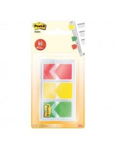 Segnapagina Post-it® Index Medium Freccia -rosso, giallo, verde - 682-ARR-RYG-EU (conf.3)
